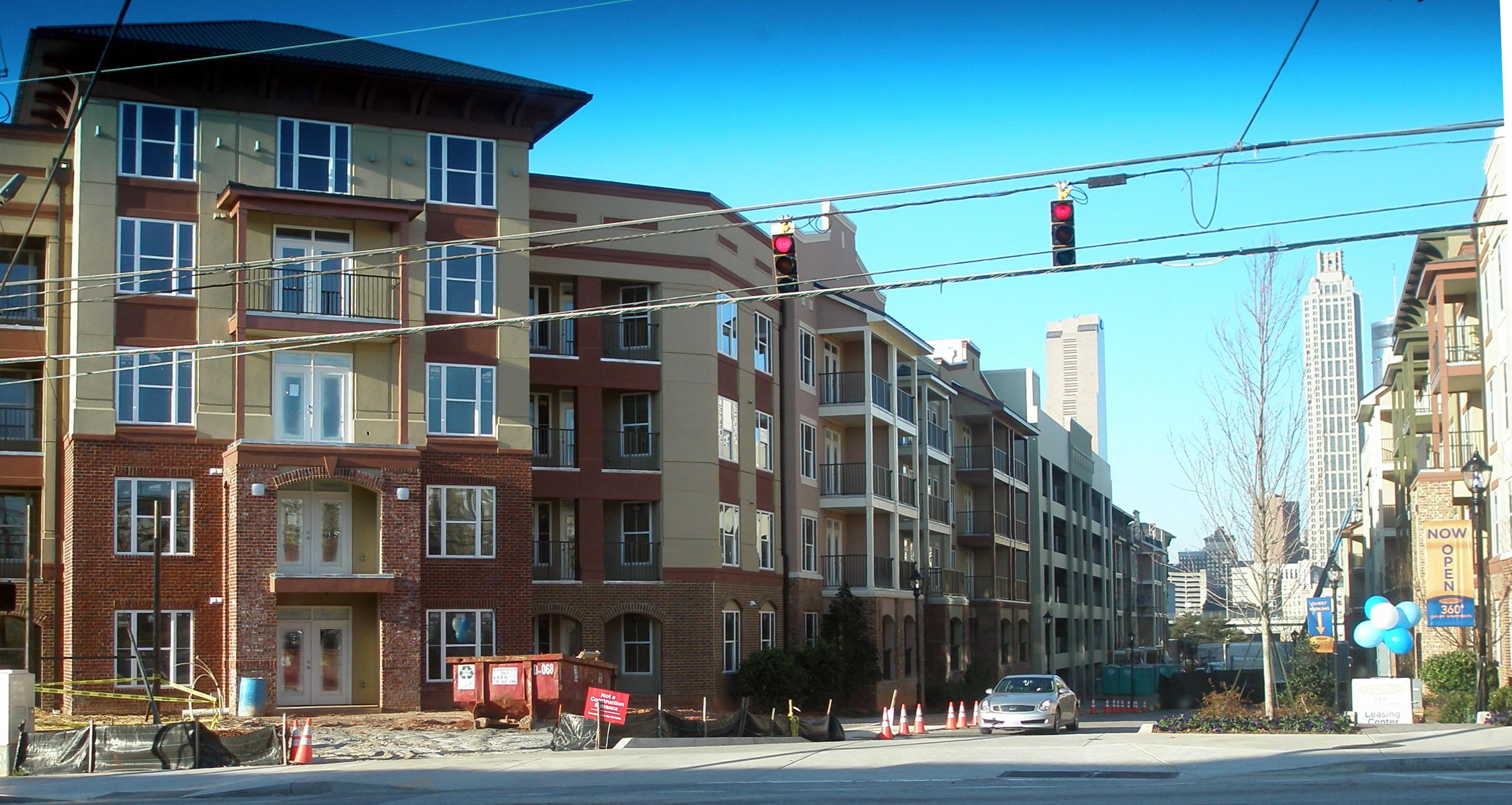 Downtown Atlanta Busting At The Seams With New Apartments Myblog S Blog